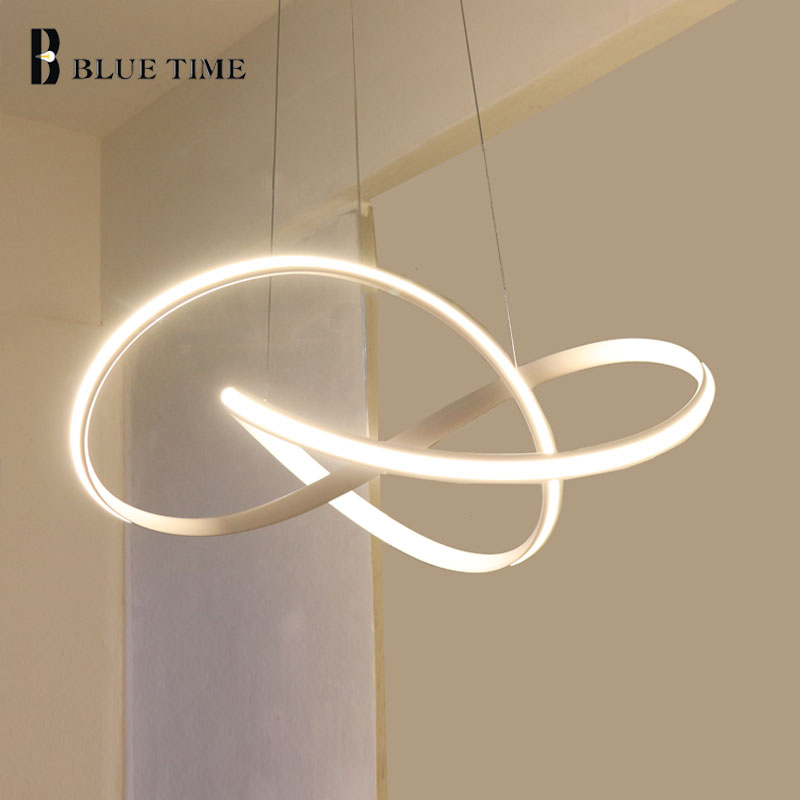 Top Sale Item White Black Gold Modern Led Chandelier Lights For Living Room Bedroom Led Chandelier Lighting Fixtures AC110V 220V led top sale 100