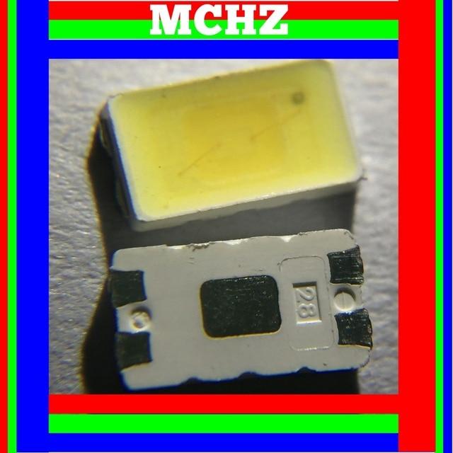 500 قطعة SMD LED 5730 5630 Chip55 60LM 0.5 W أبيض بارد 5000 K 0.5 W CRI 80