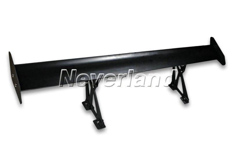 Universal Auto Car Replacement Parts Spoilers & Wings Adjustable Light GT Aluminum Spoiler