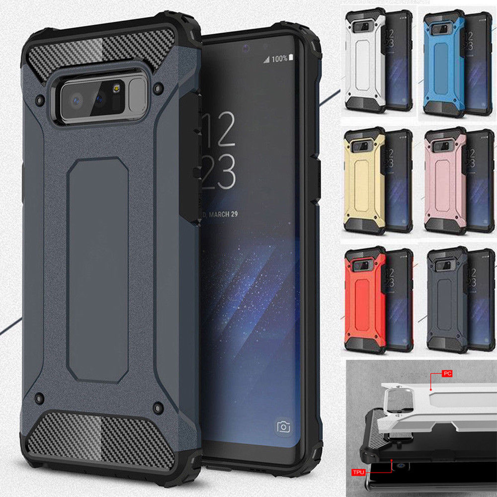 Luxury Hybrid Durable Armor Phone Case For Samsung Galaxy S10 S9 S8 Plus S7 S6 Edge S5 S10E S 10 Tough Shockproof Protect Cover
