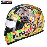 LS2 Full Face Racing Motorcycle Helmet Casco Capacete Casque Moto Helmets Kask Helm Caschi For Suzuki Motor FF358 Classic