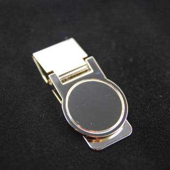 High Quality Stainless Steel /Silver Novel New Slim Pocket Cash ID Credit Card Cash Dollar Holder Small Mini Magic Money Clip !