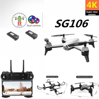 Drone 4K SG106 Drones with Camera HD Helicopter Optical Flow Positioning Quadcopter Gesture Selfie Video Quadrocopter