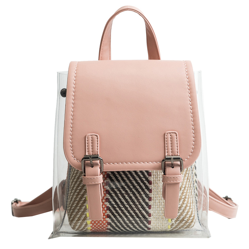 Amasie New Arrival Transparent PVC Backpack Girl School Bag Bag Pack Book Bag for Teenage Girls EGT0356Amasie New Arrival Transparent PVC Backpack Girl School Bag Bag Pack Book Bag for Teenage Girls EGT0356