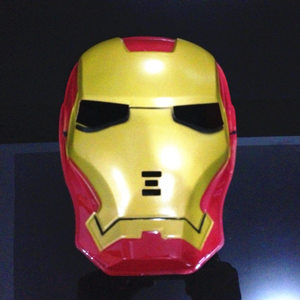 2016 Cool Cosplay Anime Iron Man Mask Halloween Party Full-face SpiderMan Mask Make Up Toy for Kids image