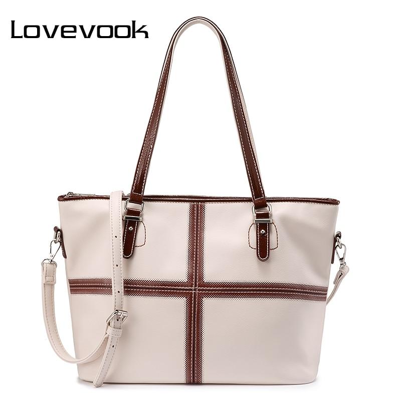 LOVEVOOK Handbag Women Shoulder Bags Female Luxury Handbags Ladies Bags Designer Big Tote Bags For Women 2019 Purses And Handbag