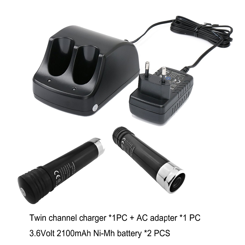 2PCS battery +charger  for Black & Decker 151995-03 383900-03 387854-00 VersaPak VP100 VP110 VP143 battery and charger