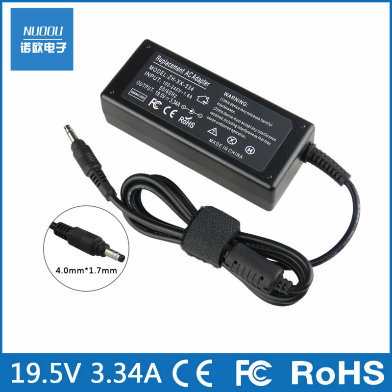 19.5V 3.34A 65W AC laptop power adapter for Dell Vostro 5460 5470 5560 5460D-2528S 5470D-1628 5560D-1328 extra thin type 4.0*1.7