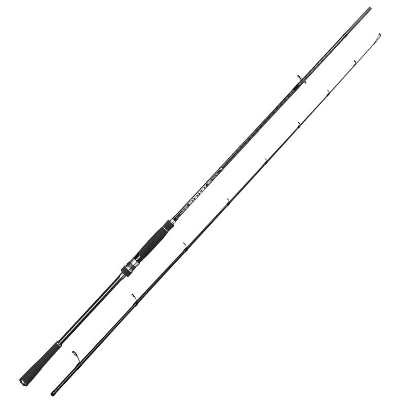 TSURINOYA MYSTERY 2.4/2.7m MH Power Spining Rod Sea bass Rod Black Bass Rod Culter alburnus Fishing Rod led телевизор mystery mtv 4331lta2 black