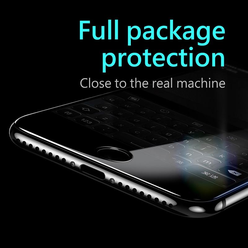 Baseus 3D Pelindung Layar Untuk iPhone 7 6 6 s penuh Melengkung Kaca - Aksesori dan suku cadang ponsel - Foto 3