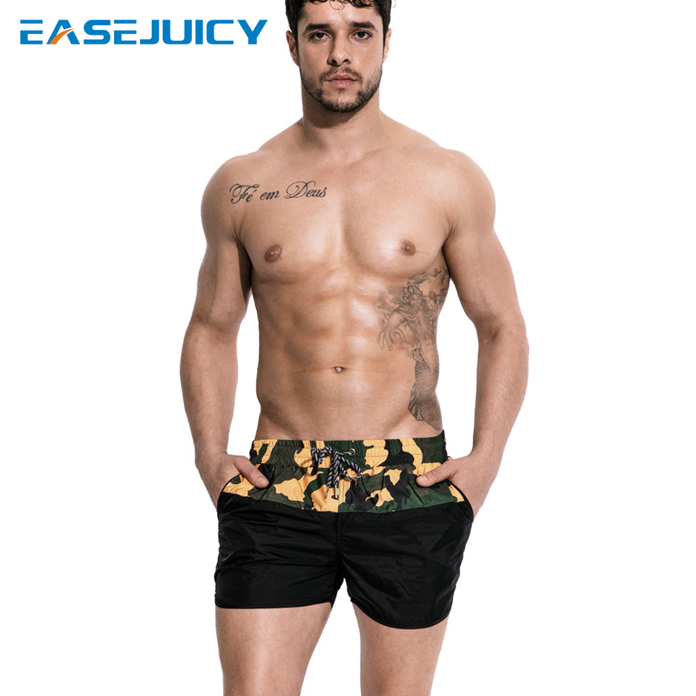 Summer   board     shorts   bathing suit swimsuit joggers liner hawaiian bermudas surfboard plavky quick dry drawstring beach   shorts