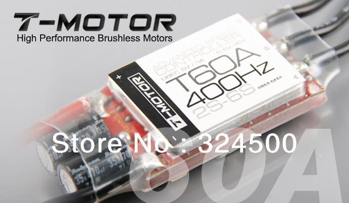 T-MOTOR Vysoce výkonné bezkartáčové motory 60A ESC 400Hz 2S-6S - Videokamery a fotoaparáty