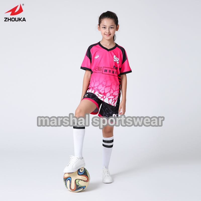 Girl Soccer Jersey Promotion Shop Promotional