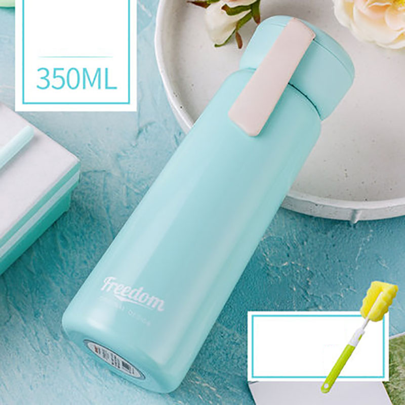 Thermo Bottle Stainless Steel Tumbler 500ml Thermos Cup Coffee Mug Thermos Water Bottle Termos Caliente Kids Thermoses W5B092