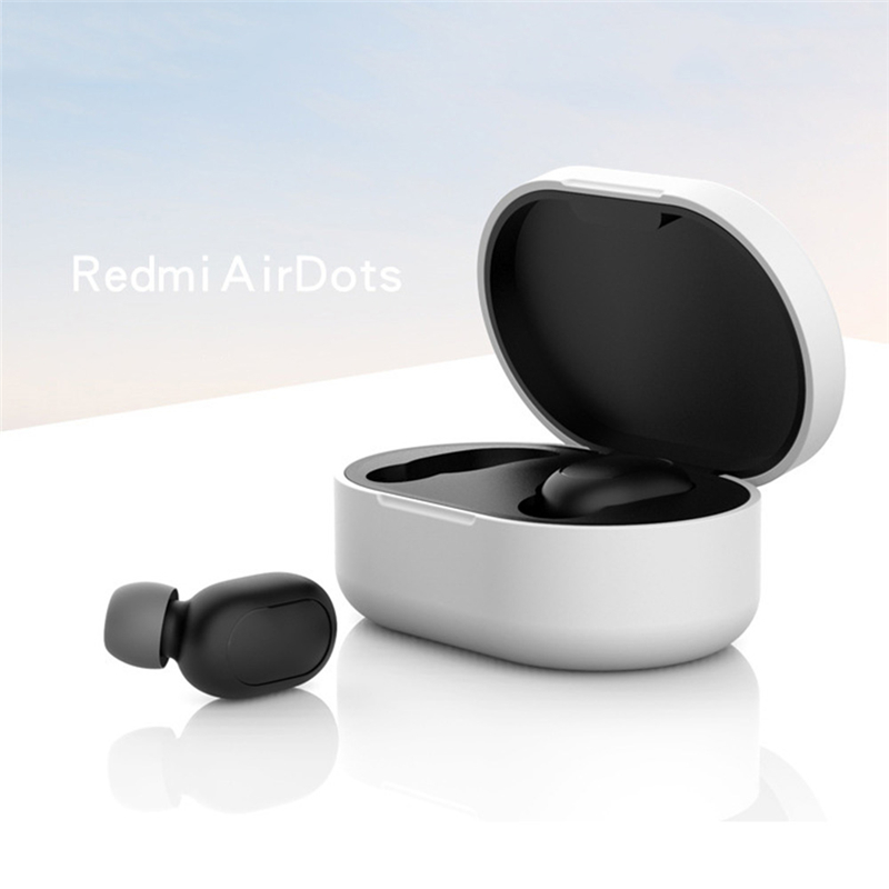 Новое поступление силиконовый защитный чехол для наушников для Xiaomi Redmi Airdot TWS Bluetooth наушники модная версия беспроводной