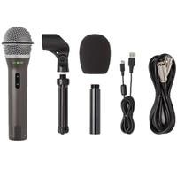 100% Original Samson Q2U Handheld Dynamische USB Mikrofon mit XLR und USB I/O Hohe Qualität
