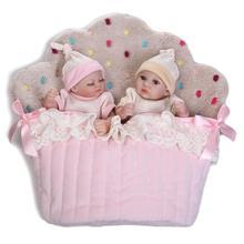 Lindos mellizos recién nacidos de 25 cm