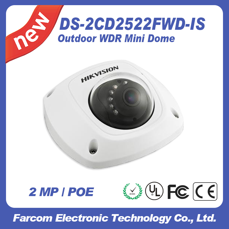 Hikvision cctv camera DS-2CD2522FWD-IS TVI cctv IR poe camera cd диск fleetwood mac rumours 2 cd