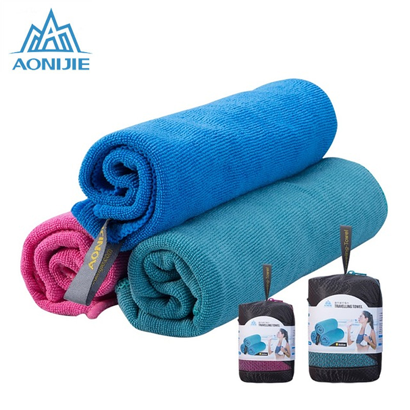 AONIJIE Microfiber Gym Bath Towel Travel Hand Face Towel Quick Drying For Fitness Workout Camping Hiking Yoga Beach E4083