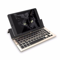 Universal Mini Wireless Bluetooth 3 0 Folding Foldable Keyboard For IPhone IPad IOS Android Smartphone Tablet