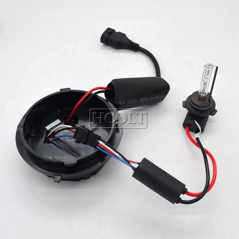 HCDLT Car Headlight Xenon 9012 HIR2 HID Kit 35W 9012 6000K HiLo Bixenon No Error Canbus Car Light Bulb Kit For IX35 2014-2016 (6)