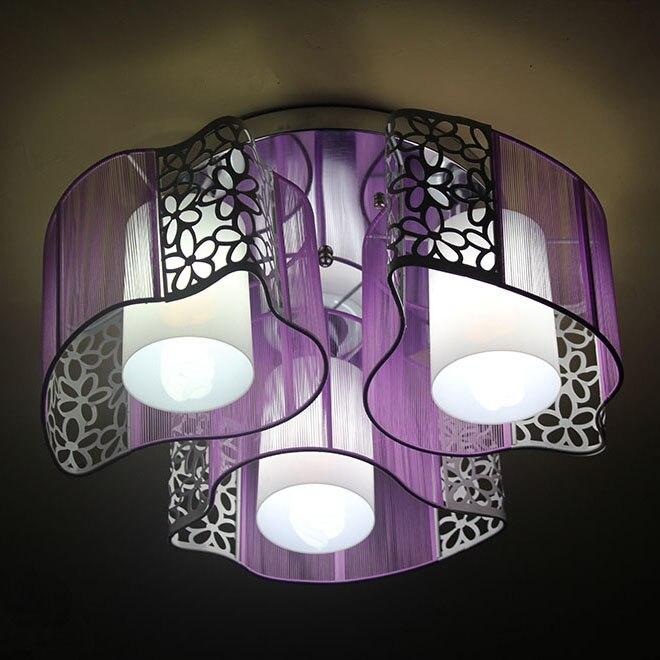 Iron Drawing Light Child Light Dolphin Lamp Rustic Bedroom Lights Lamp Romantic Ceiling Light