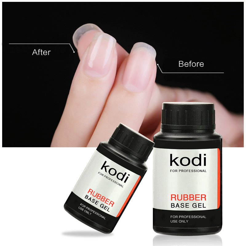 30ml/ 14ml Kodi Rubber Base Coat Top Coat UV Led Fast Dry Varnish ...