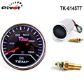 "PIVOT -  Car Motor JDM 2"" Inch 52mm Oil Temp LED Smoke Tint Len Gauge Meter TK-6145TT"