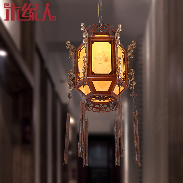Chinese lantern chandelier classical Ming and Qing antique lanterns  lighting the lamp retro den teahouse restaurant - Chinese Lantern Chandelier Classical Ming And Qing Antique Lanterns