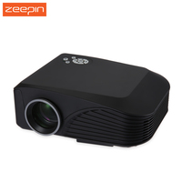 H88 High Resolution LCD Projector 3D Full HD Supported LED Mini Protable Projection Apparatus Home Media