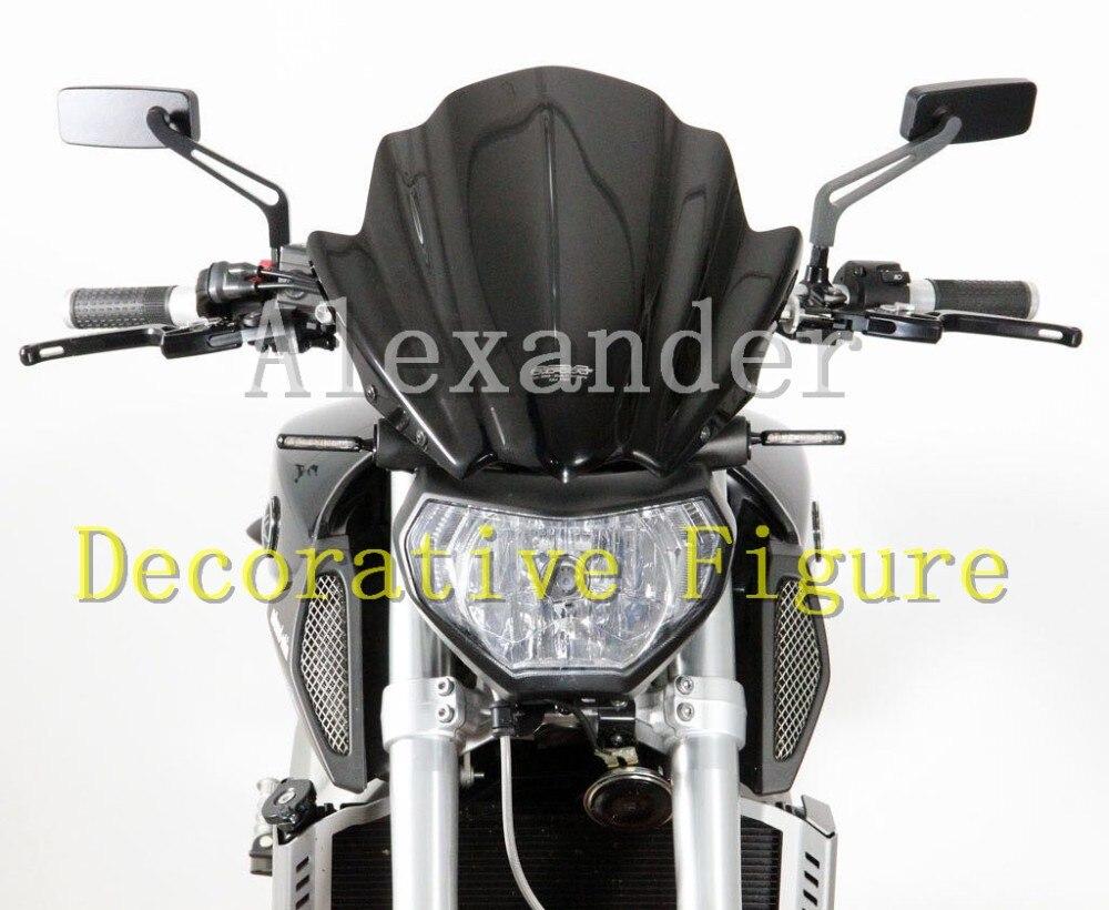 Для Kawasaki Z250 Z250SL Z300 Z650 Z750 Z750R Z800 Z1000 мотоцикл лобовое стекло/ветрового стекла Z 250 300 650 750 750R 800 1000 250SL