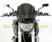Для Kawasaki Z250 Z300 Z750 Z750R Z800 Z1000 велосипед мотоцикл/мотоцикл лобовое стекло/ветрового Черный Z 250 300 750 750R 800 1000