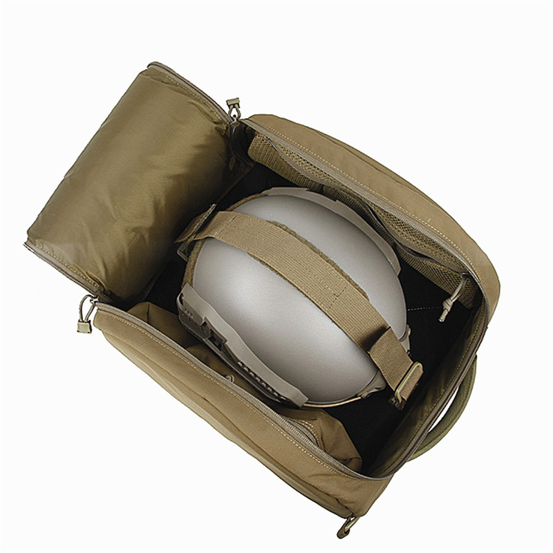 TMC Best Helmet Hut Tactical Storage Bag 500D Helmet Carrier Package for Load Various Size Helmets