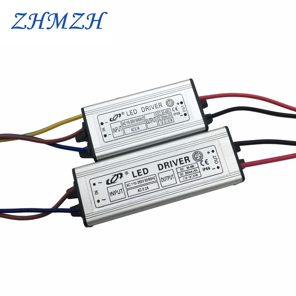 AC 110 265V DC LED Driver 300mA Power Supply Constant