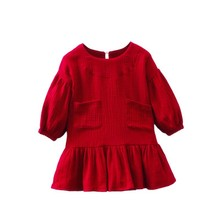Spring 2019 Baby Girls Dresses Long Sleeve Cute Dress For Kids Princess
