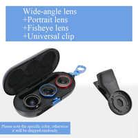 SIRUI 3 Lens Kit Algemene Professionele HD Externe Smartphone Lens voor Iphone voor Xiaomi voor Samsung voor Huawei