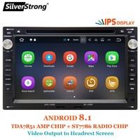 SilverStrong Android8.1 ips Панель автомобиля 2Din DVD для VW PASSAT B5 Android B4 Golf4 MK4 Polo BORA 2004 OCTAVIA1 Wi Fi OBD
