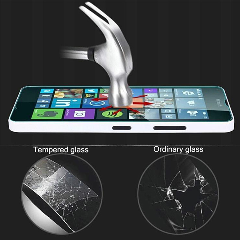 Tempered Glass For Microsoft <font><b>Nokia</b></font> Lumia N 550 X 650 <font><b>950</b></font> 950XL NX 540 <font><b>XL</b></font> NXL 930 830 820 730 640XL 430 Screen Protective Film image