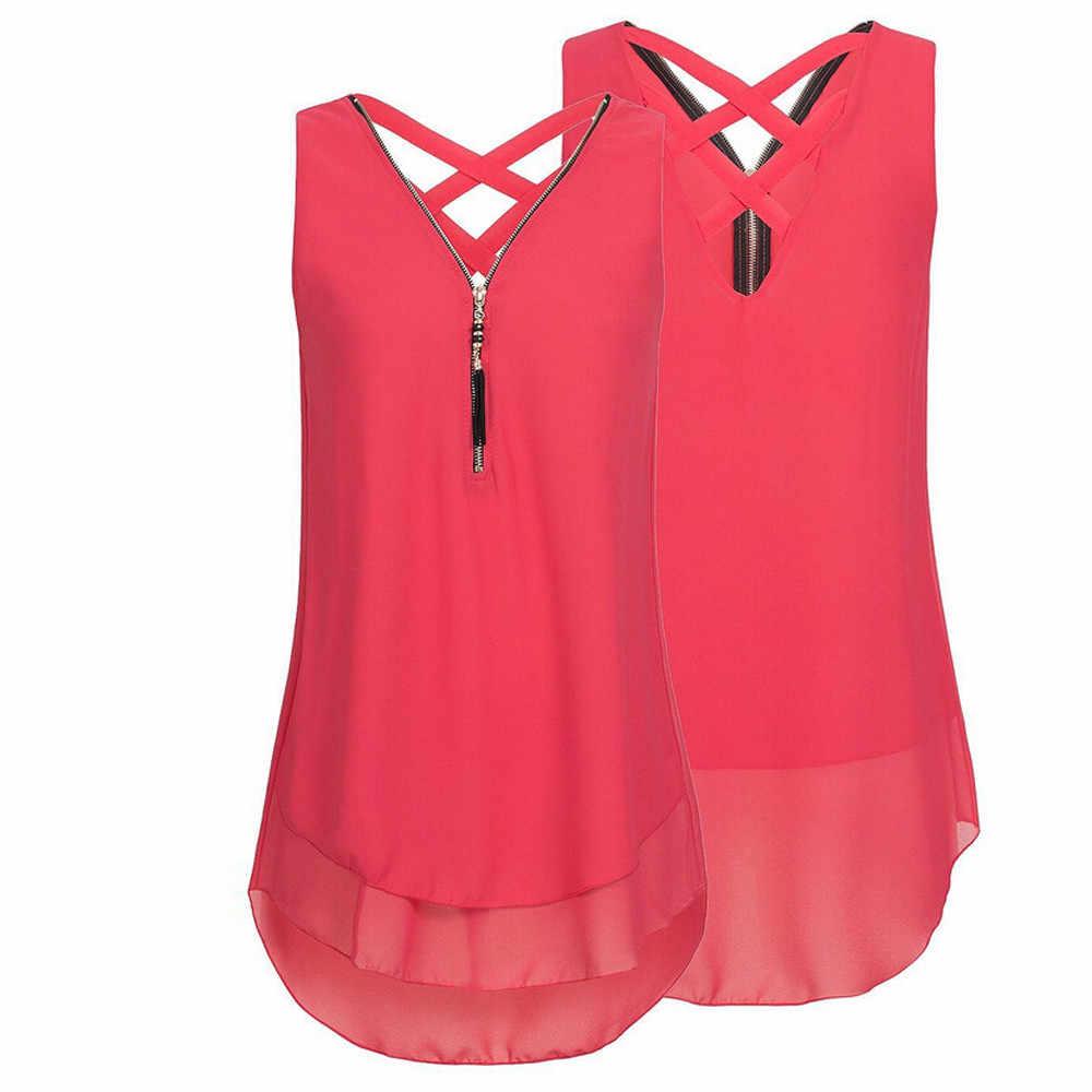 เสื้อผู้หญิงหลวมเสื้อเซ็กซี่ CROSS Hem เสื้อ V-Neck XL TOP Off-ไหล่เสื้อสีทึบ TOP Camisas # JY