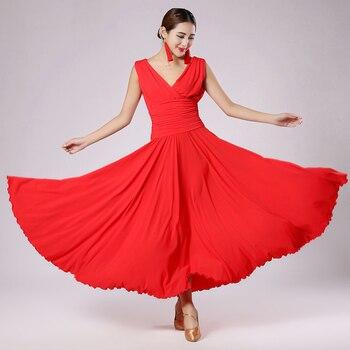 2017 New Ballroom Dancing Dress 5colors Women Clothes For Dance Free Shipping Tassels For Dance Ballroom Dance Dress DQ1922