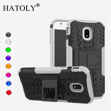 HATOLY For Case Samsung Galaxy J3 2017 Cover Silicone & Plastic J330