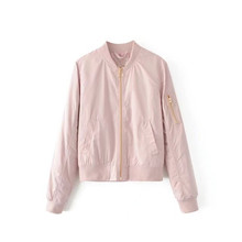 Fashion new solid color thin coat