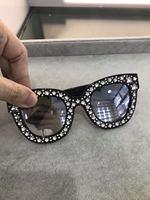 K0610 2019 luxury Runway sunglasses women brand designer sun glasses for women Carter glasses