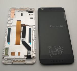"""Image 1 - ESC Für 5,0 """"HTC Desire 626 626G Display Mit Rahmen LCD display + Touch Screen Digitizer Montage Ersatz teile 626 LCD + Werkzeuge"""