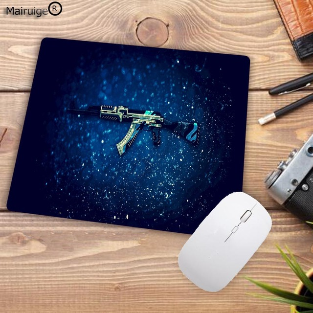 Mairuige Big Promotion Rubber Anti-slip Counter Strike Mice Mat DIY Computer Gaming Mouse Pad Cs Go Rubber 22X18CM 3