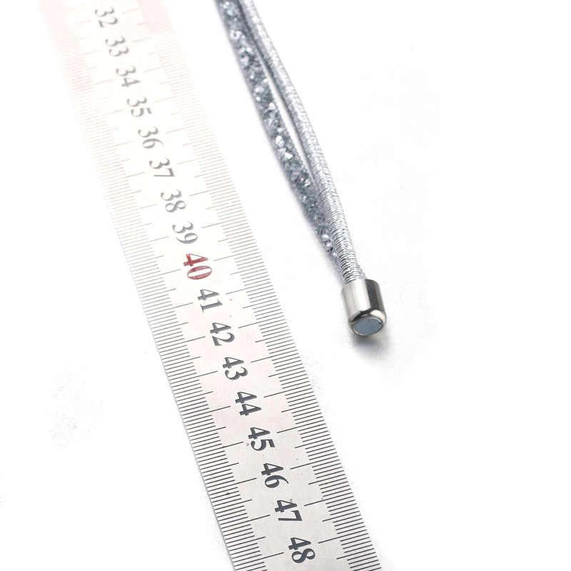 新ファッションスナップジュエリー 18 ミリメートルスナップボタン卸売ヴィンテージ磁気スナップペンダントネックレス女性ジュエリー