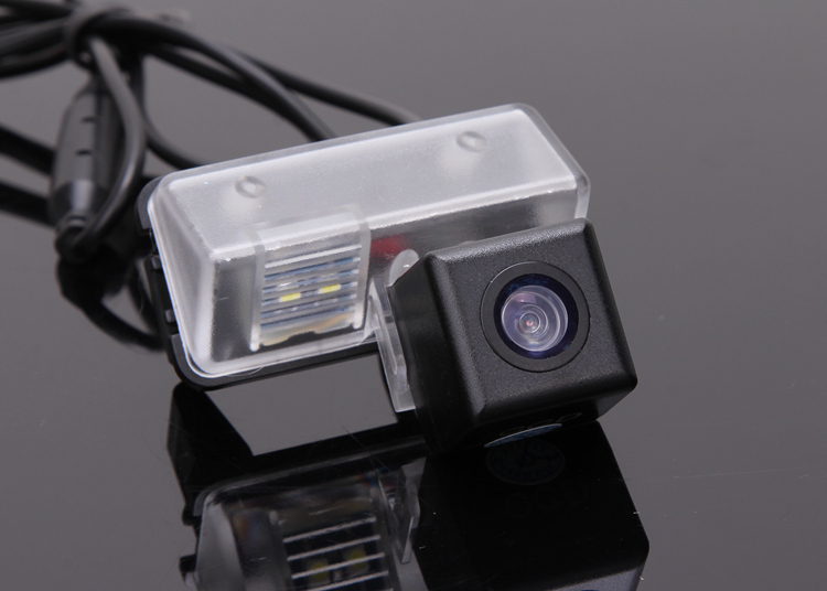 CCD Car Rear View Camera for Toyota Corolla 2014 Reverse Backup Review Reversing Parking Kit Free Shipping image