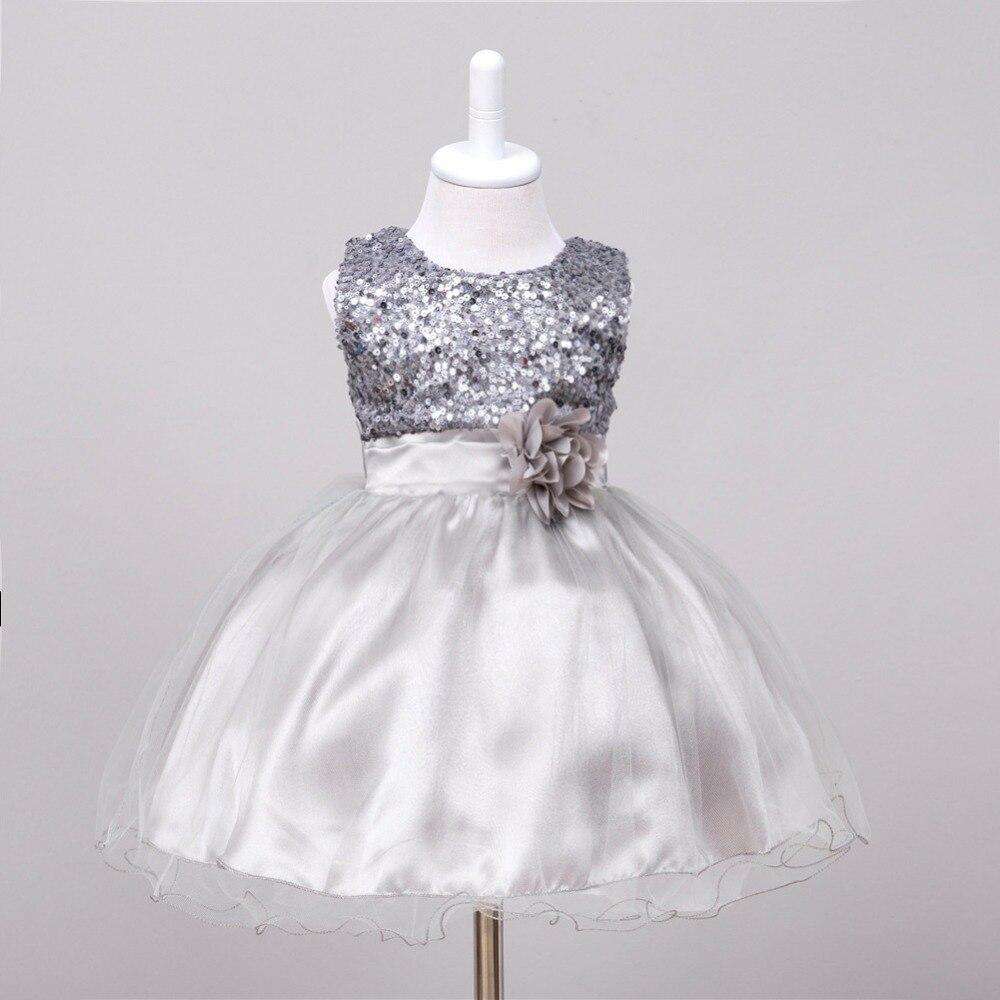 376851292 Lentejuelas de verano princesa vestido de fiesta chica flor vestidos para  la boda fantasía Niña Tutu vestido para 3 años en Vestidos de Mamá y bebé en  ...