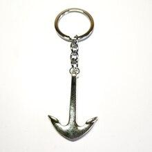 New Popular Fashion Keychain 42mm Anchor Crew Key Pendant DIY Men and Women Jewelry Car Keychain Charm Gift Commemorative Gift пуговицы diy 42mm