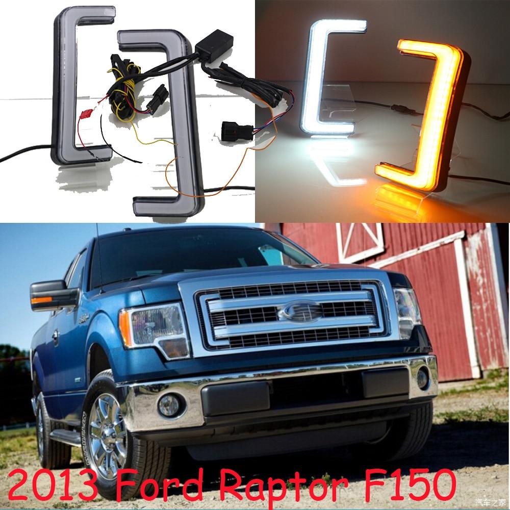 2012 2013 2014y For Raptor F-150 daytime light,LED,F150 fog light,ecosport,kuga;F-150 fog lamp,Heritage Daytime light